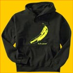 Velvet Underground Banana Hooded Sweatshirt