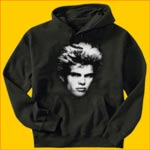 Billy Idol White Head Hooded Sweatshirt