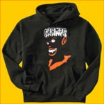 The Cramps Vampire Hooded Sweatshirt
