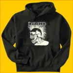 The Exploited White Head Hooded Sweatshirt