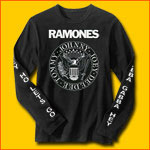 Ramones Long Sleeve Punk T-Shirt