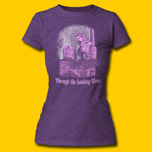 Alice's Adventures in Wonderland Thorugh The Looking Glass Girls T-Shirt