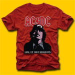AC/DC Classic Rock T-Shirts - Lock Up Your Daughters T-Shirt