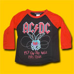 AC/DC 1985 Tour Toddler Long Sleeve T-Shirt