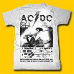 AC/DC US Tour 1978 Lightweight T-shirt