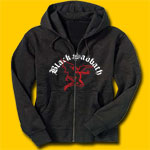 Black Sabbath Flying Demon Hooded Sweatshirt