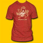 Bruce Lee Dragon Red T-Shirt