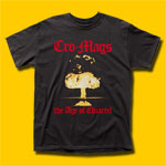 Cro-Mags The Age of Quarrel Punk Rock T-Shirt