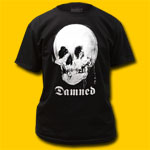The Damned Mirror Skull Black T-Shirt