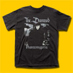 The Damned Phantasmagoria Punk Rock T-Shirt