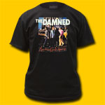 The Damned Machine Gun Etiquette T-Shirt