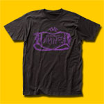 The Damned Purple Logo Punk Rock T-Shirt