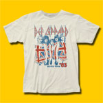 Def Leppard '83 World Tour Rock T-Shirt