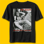 GG Allin You Give Love A Bad Name Rock T-Shirt