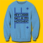 New Order Movement Blue Heather Sweatshirt