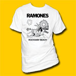 Ramones Rockaway Beach Punk Rock T-shirt