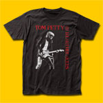 Tom Petty ...And The Heartbreakers Black T-Shirt