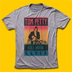 Tom Petty Full Moon Fever Heather Grey T-Shirt