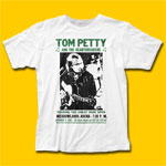 Tom Petty Touring The Great Wide Open White T-Shirt